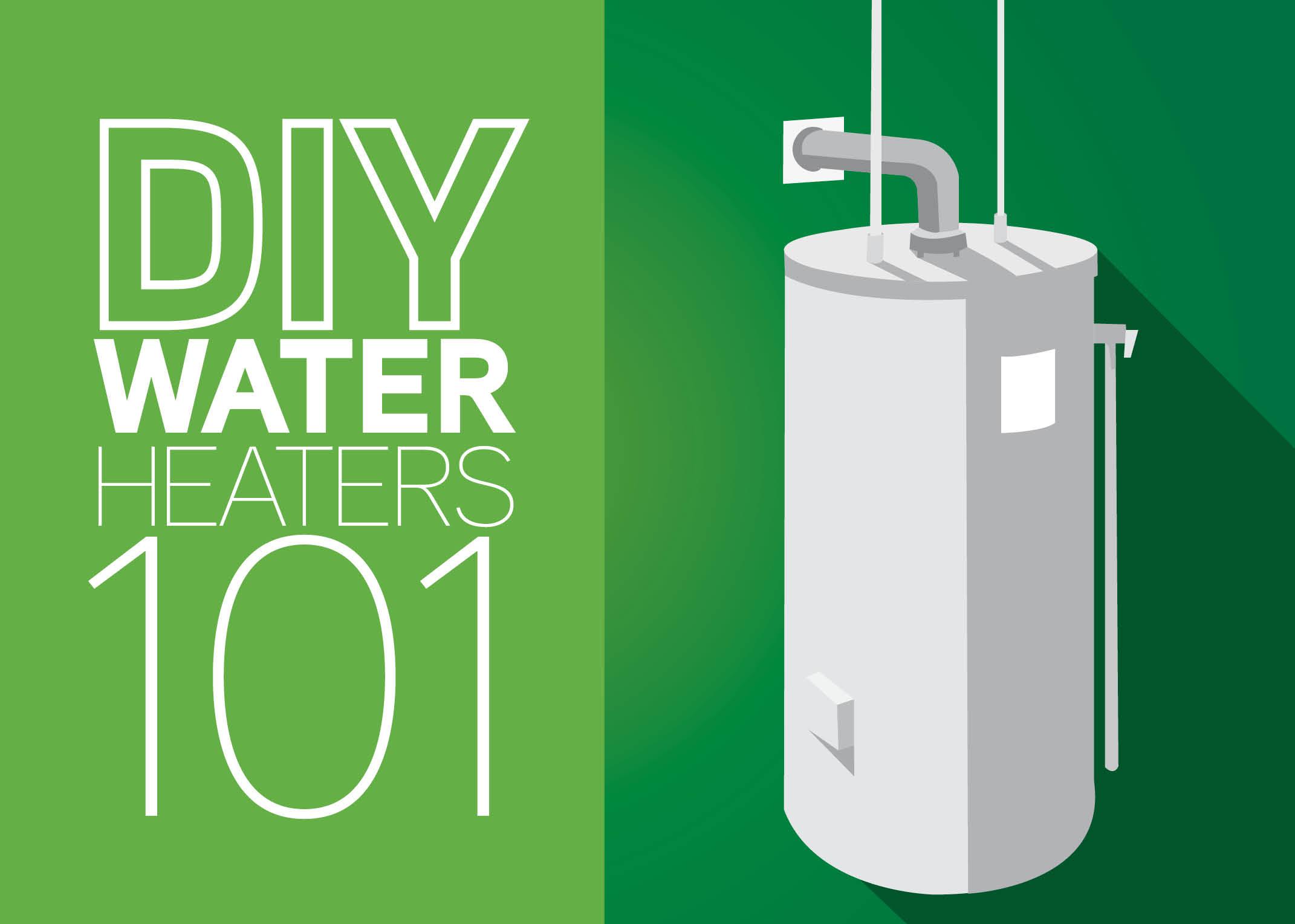 Diy Water Heaters 101 Mr Rooter Blog