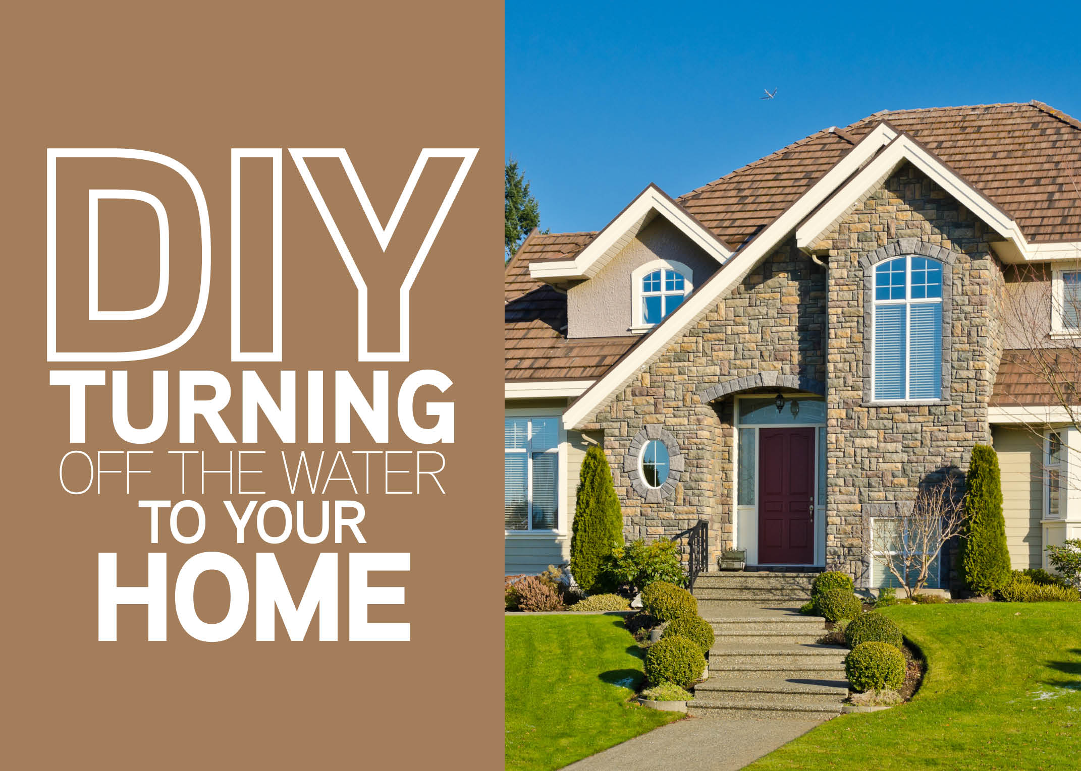 Diy Turning Off The Water To Your Home Mr Rooter Blog