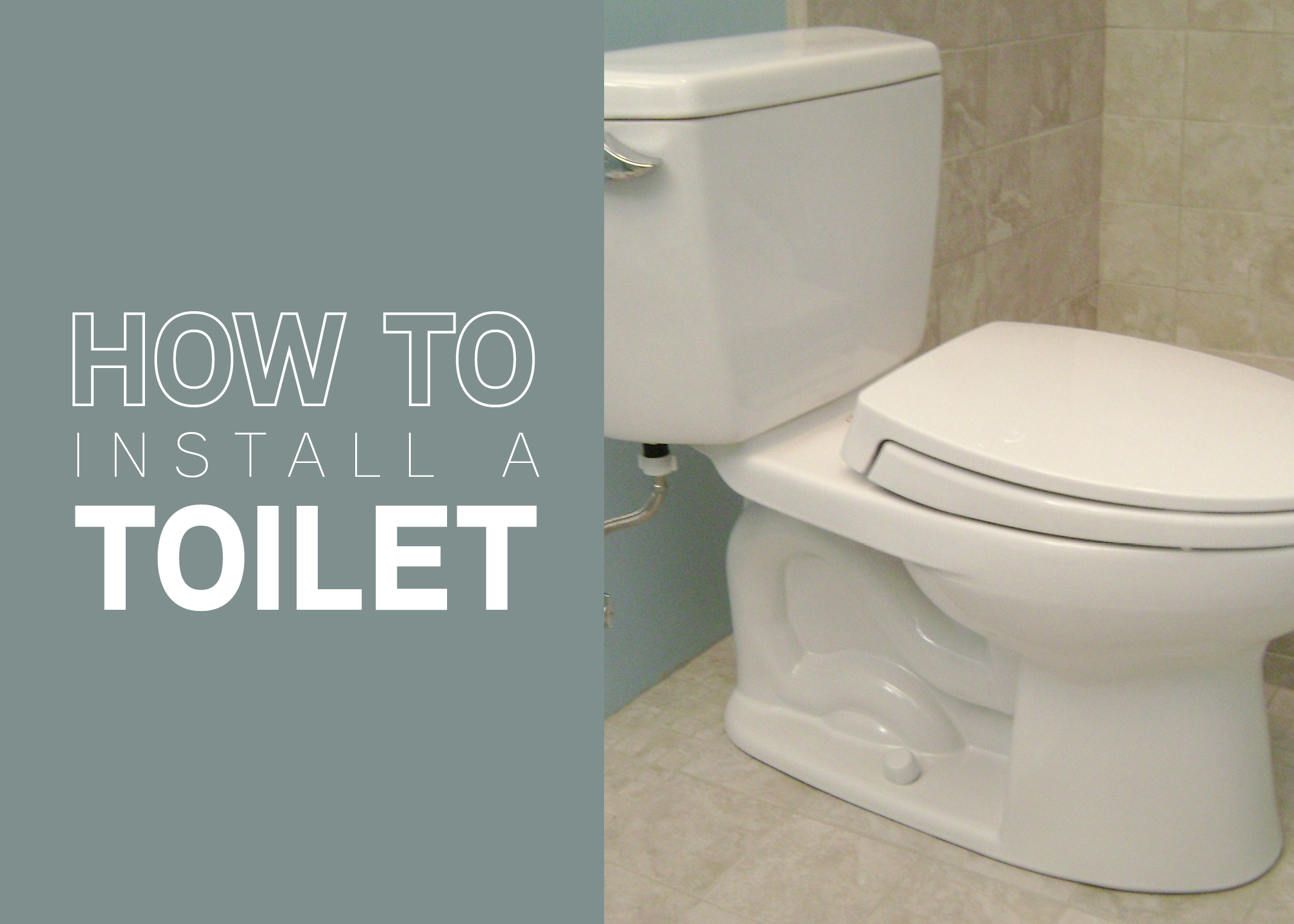 How To Install A Toilet Mr Rooter