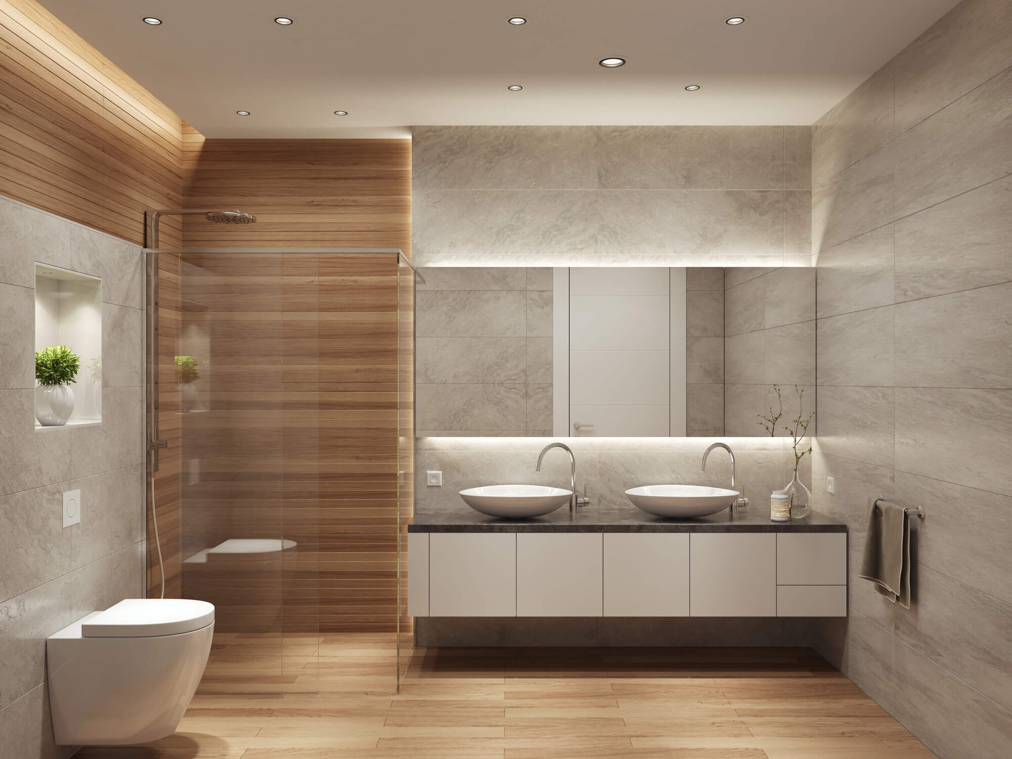 fetching contemporary bathroom design | Bathroom Design Trends for 2019