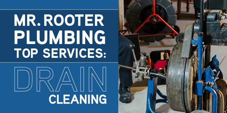 Mr Rooter Plumbing Top Services Drain Cleaning
