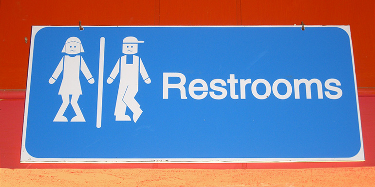 13 Of Our Favorite Funny Bathroom Signs