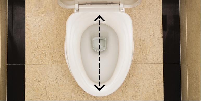 Pleasing How To Quickly Measure For Your New Toilet Seat Dailytribune Chair Design For Home Dailytribuneorg
