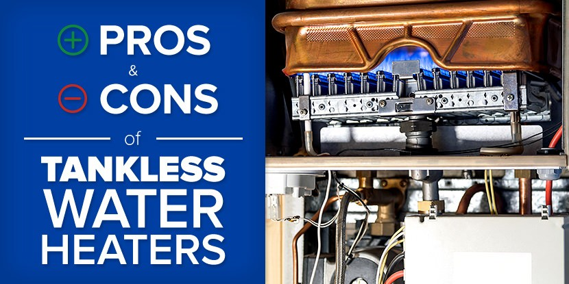 pros and cons of tankless water heaters | mr. rooter plumbing