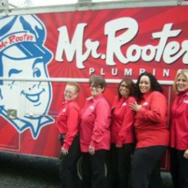 Some of the Mr. Rooter ladies