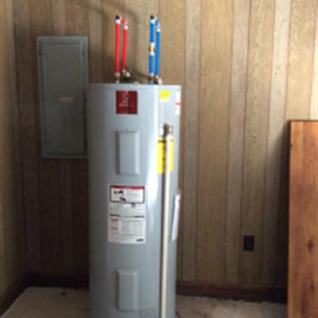Installed a new 50 gallon State water heater.
