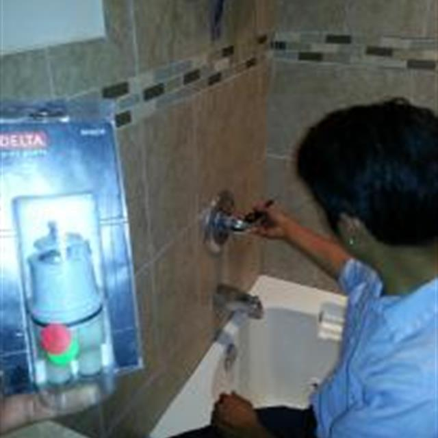 If your shower spout is leaking water the most possible explanation is that the shower cartridge might need replacement.