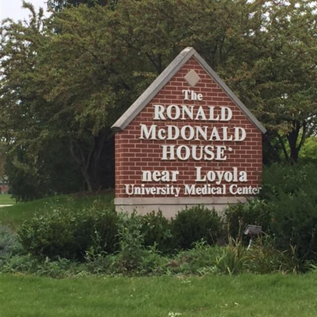 Ronald McDonald House near Loyola University Medical Center