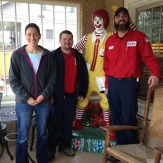 Mr. Rooter Plumbing of Colorado Springs with Ronald McDonald
