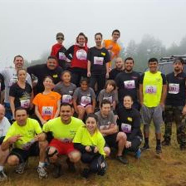 #tbt To when many of our team members and families participated in the Russian River Mud Run- Before Picture!  Happy Team Members Make Happy Customers!