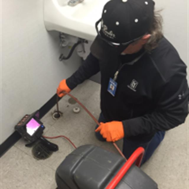 Mr. Rooter Plumbing of San Antonio uses a camera to identify problems or potential problems in your drains.