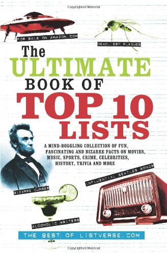 ultimate book of top 10 lists