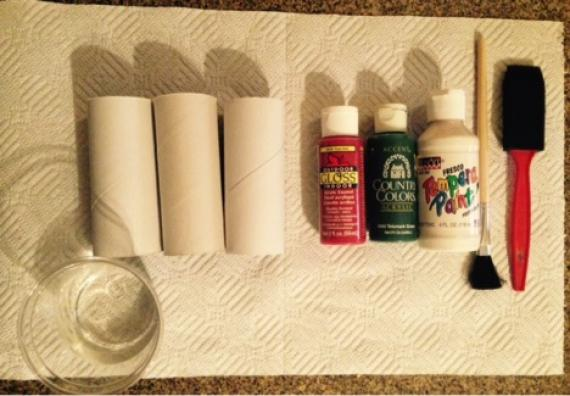 Holiday Poppers Craft Supplies Needed