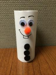 snowman toilet paper roll