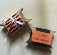 Toilet Paper Roll Halloween Gift Box Craft