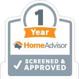 HomeAdvisor Approved 1 Year