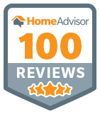 100 Reviews on Home Advisor