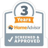 HomeAdvisor Approved 3 Years