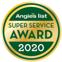 Super Service Award Angie's List 2020