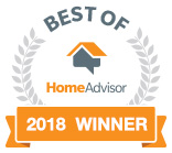 2018 Best Home Advisor Winner Badge