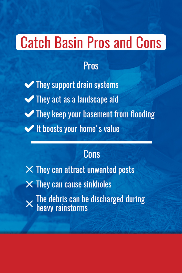 Catch basin pros and cons