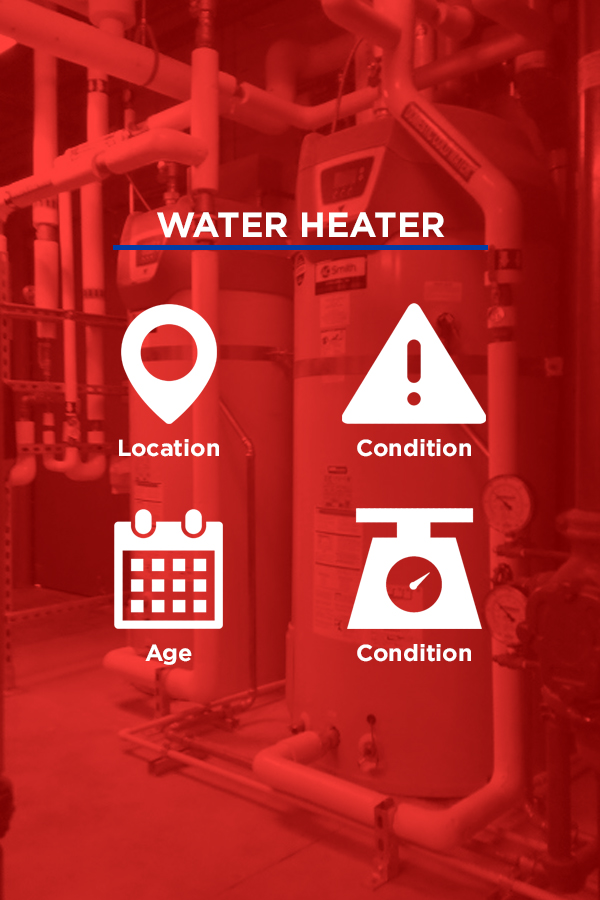 inspect water heater