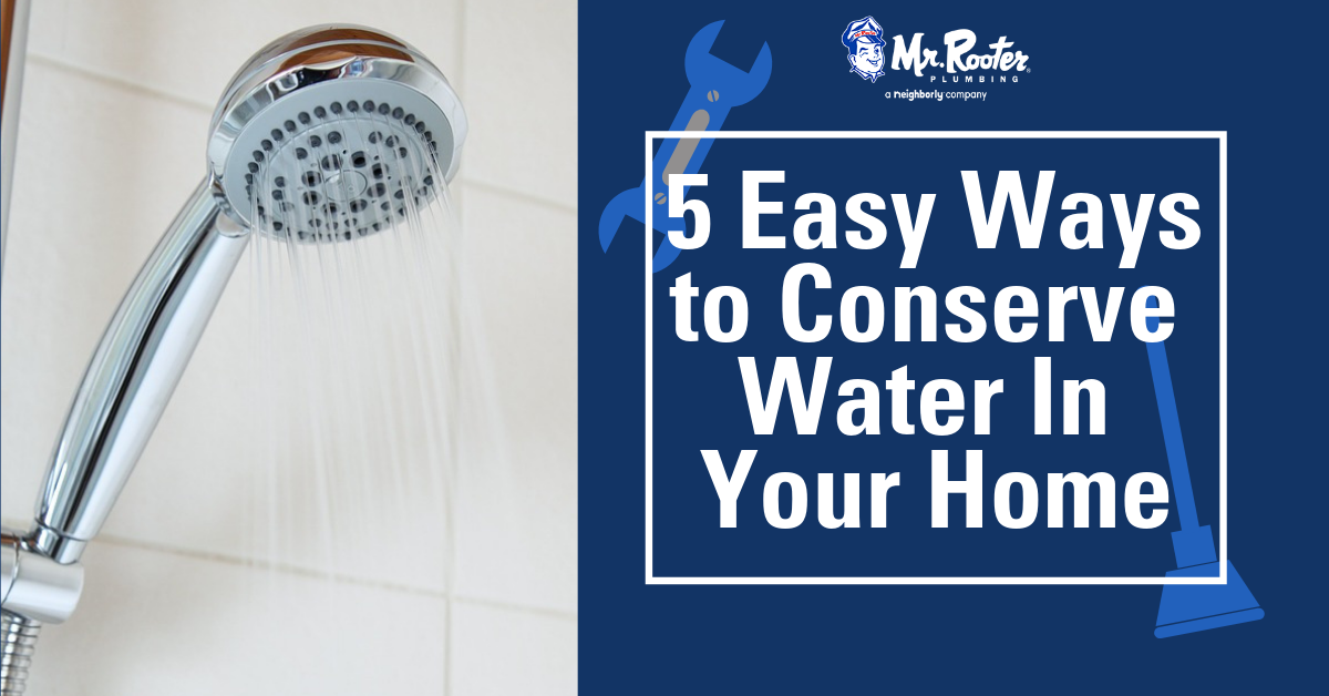 Five Easy Ways To Conserve Water In