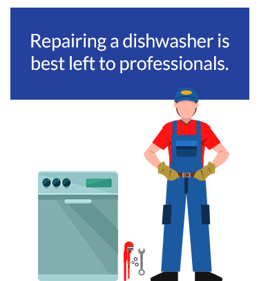 repairing a dishwasher is for professionals