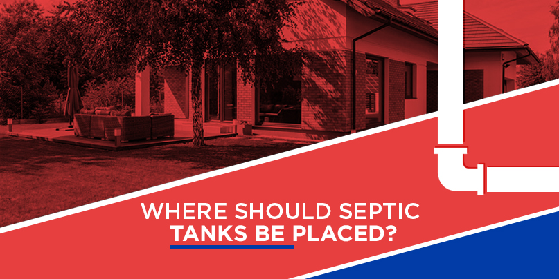 where should septic tank be placed