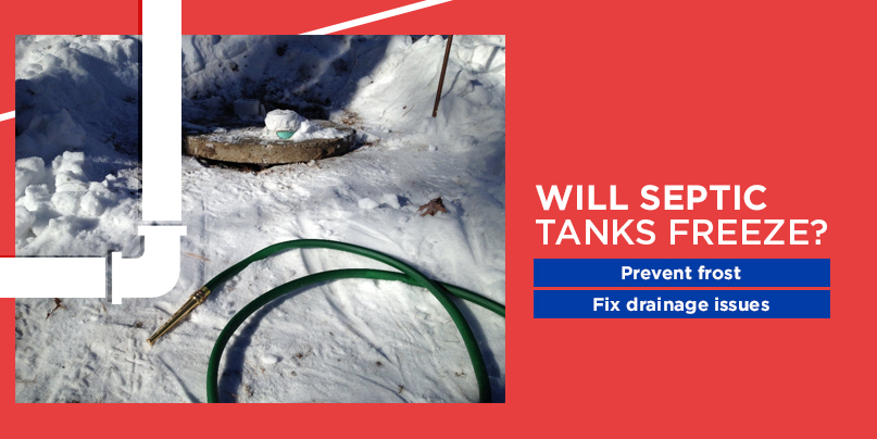will septic tanks freeze