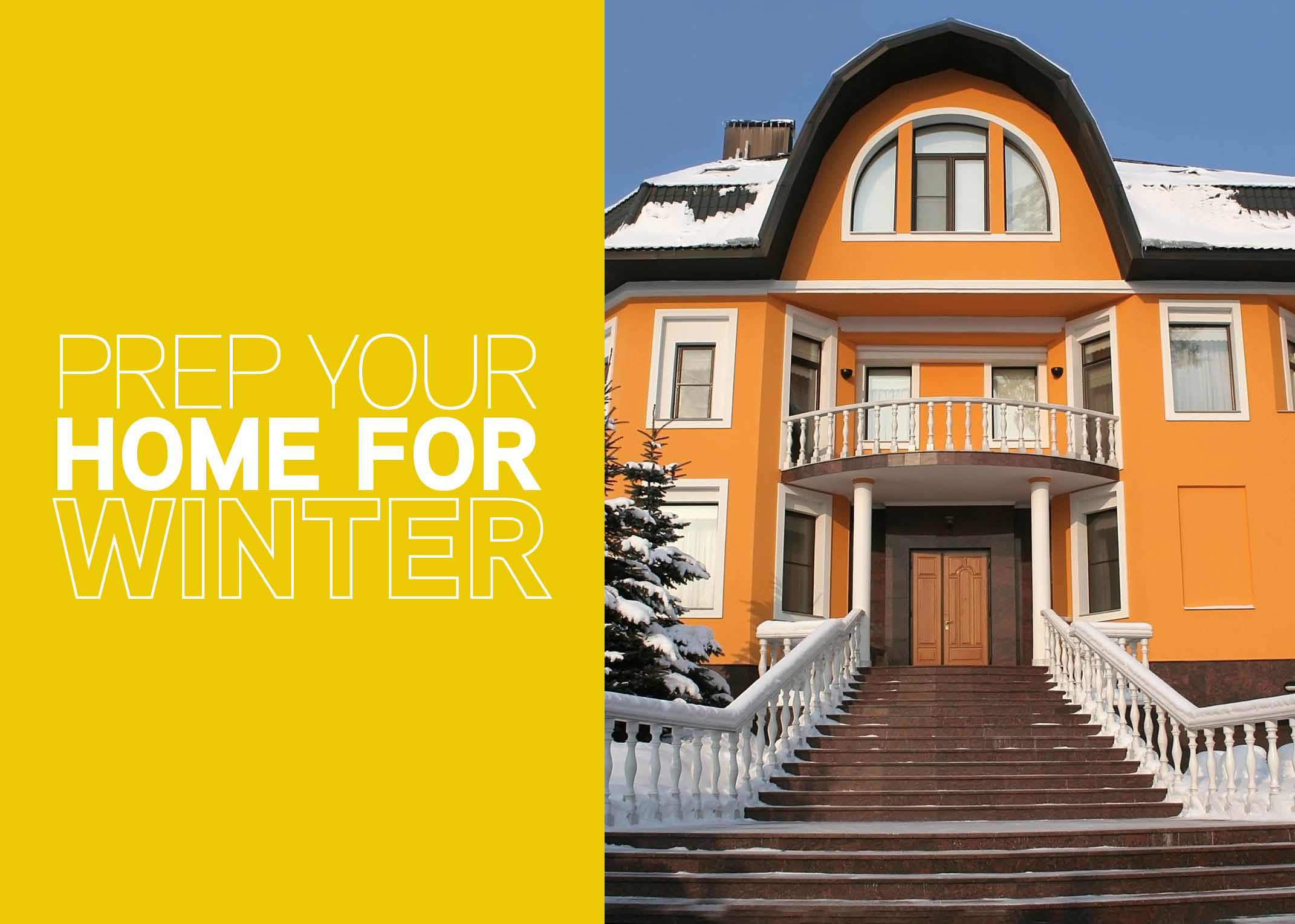 prep your home for winter