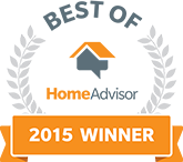 HomeAdvisor 2015 Winner