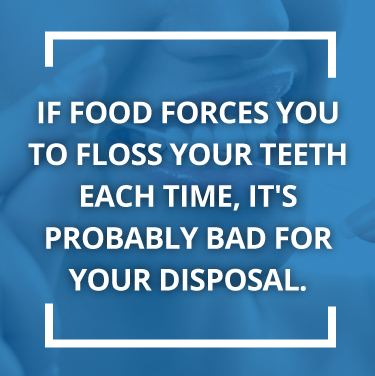 food that makes you floss