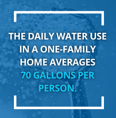 daily water use in one family