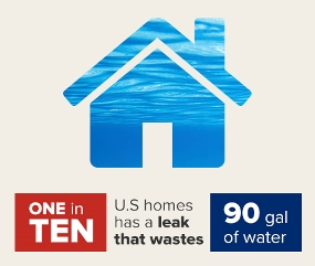 water waste infographic