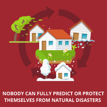 nobody can fully prepare for natural disasters