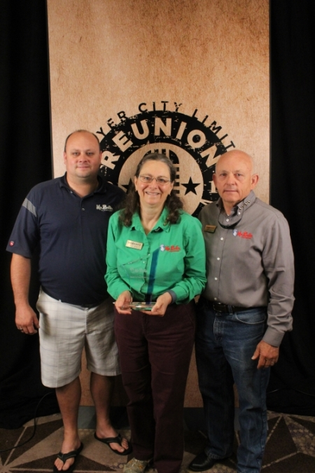 Shaylin, Dan and Jill King: Back in the Saddle Award Winner