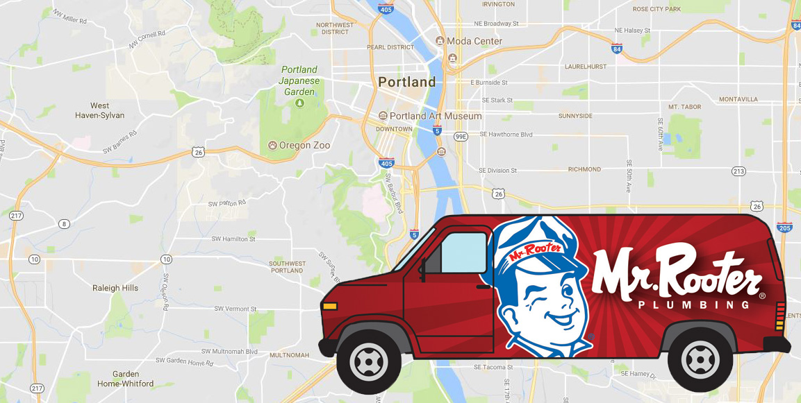 Mr. Rooter of Portland google maps screenshot