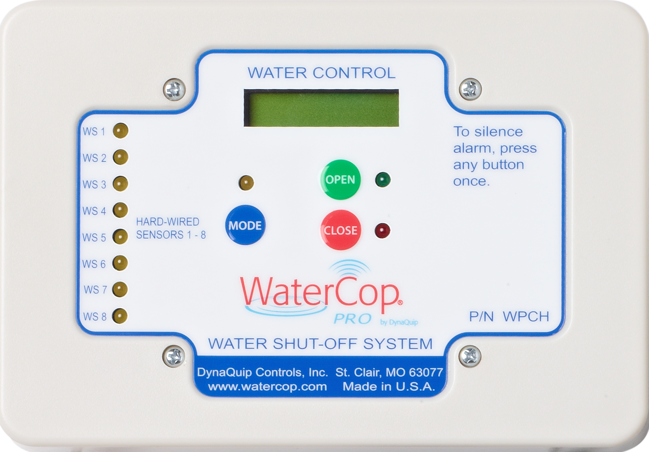 WaterCop water shutoff system