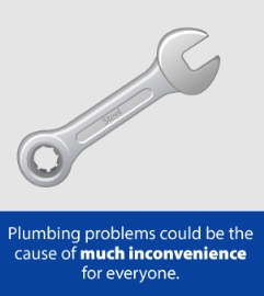plumbing problems are an inconvenience