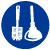 bathroom cleaning supplier icon