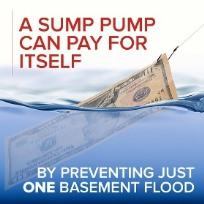 a sump pump can pay for itself