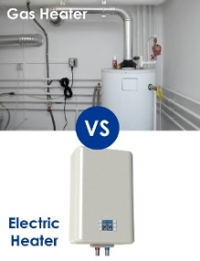 gas water heater vs electric water heater
