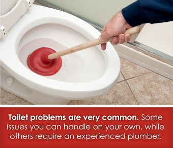 toilet problems are common