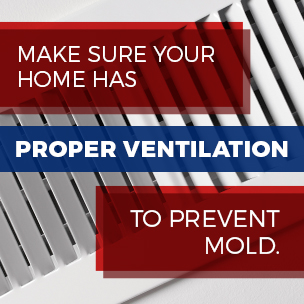 prevent mold with ventilation