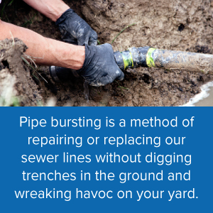 Pipe bursting service