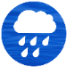 rain cloud icon