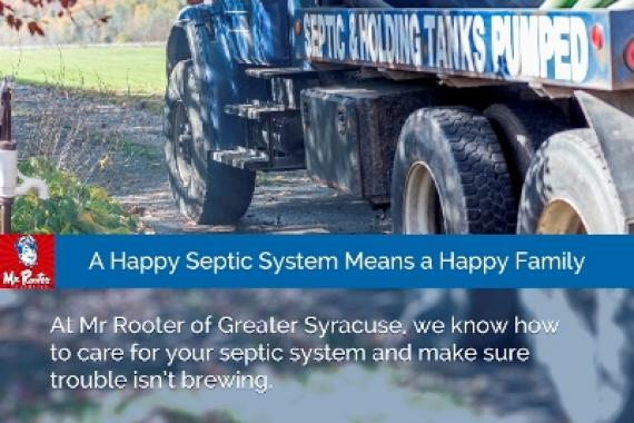 a happy septic system means a happy family