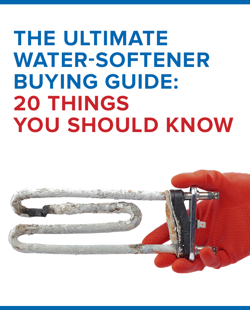 water softener buyers guide