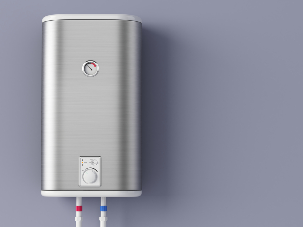 Electric Water Heater on Wall